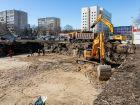 Ход строительства дома № 2 в ЖК Каскад на Автозаводе - фото 23, Март 2021