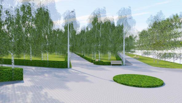 Проект благоустройства парка «Светлоярский» в Нижнем Новгороде