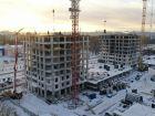 Ход строительства дома № 1 первый пусковой комплекс в ЖК Маяковский Парк - фото 55, Январь 2021