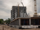 Ход строительства дома № 2 в ЖК Заречье - фото 18, Июнь 2021