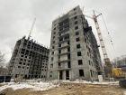 Ход строительства дома №1, секция 2 в ЖК Заречье - фото 12, Февраль 2021