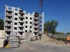 Ход строительства дома Секция 3 в ЖК Сиреневый квартал - фото 53, Август 2019