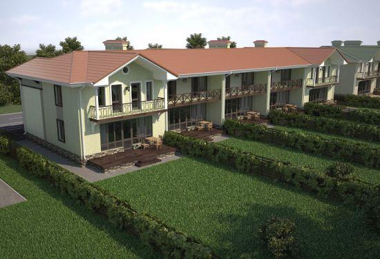 Дом № 1-40 по ул. Западная (109м2 и 133м2) в Загородный посёлок Фроловский