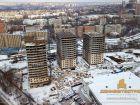 Ход строительства дома Литер 1 в ЖК Звезда Столицы - фото 88, Декабрь 2018