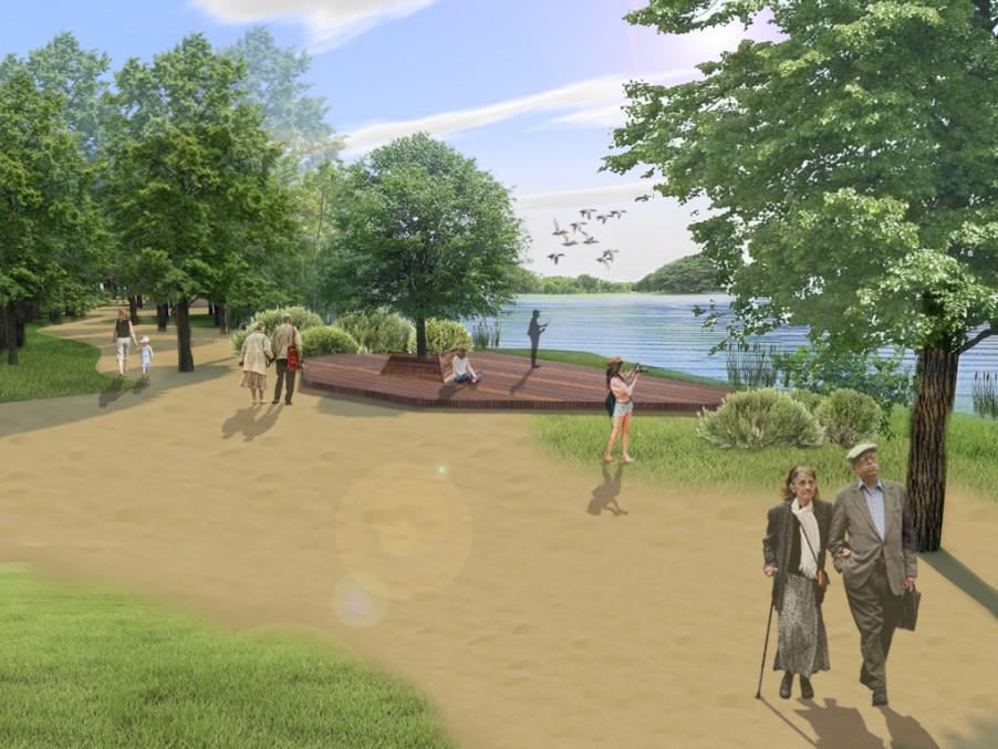 Силикатное озеро в Ленинском районе Нижнего Новгорода благоустроят за 19,6 млн рублей - фото 2