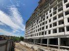 Ход строительства дома № 3 в ЖК Квартет - фото 4, Июнь 2021