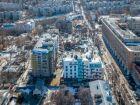 Ход строительства дома №1 в ЖК Премиум - фото 51, Апрель 2018