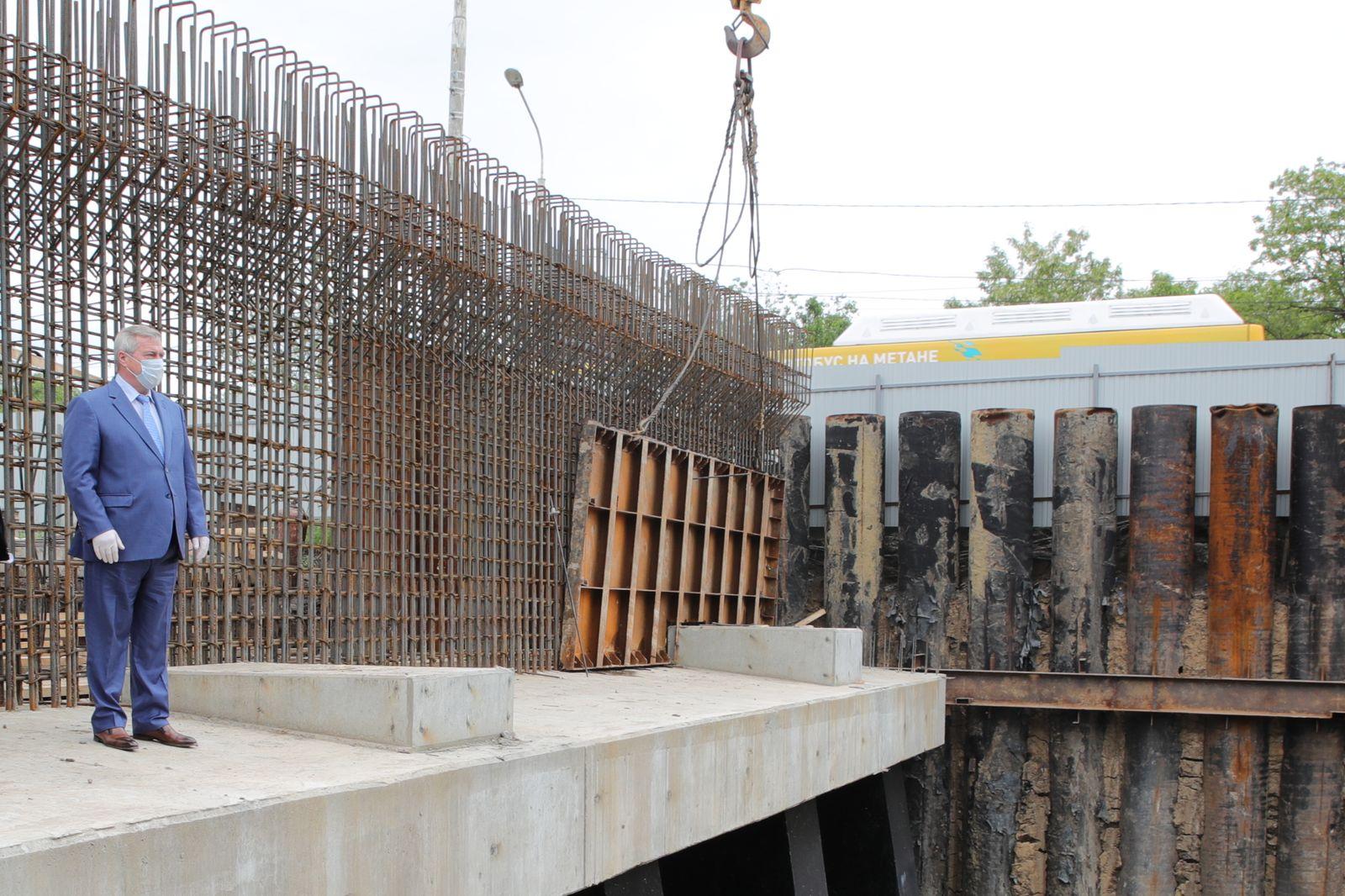 Началась активная фаза реконструкции путепровода на Малиновского в Ростове - фото 1