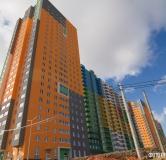 Ход строительства дома № 8 в ЖК Красная поляна -