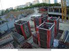 Ход строительства дома № 1 в ЖК Огни Автозавода - фото 24, Май 2021