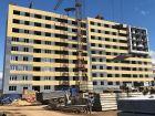 Ход строительства дома № 3А в ЖК Подкова на Гагарина - фото 63, Июль 2019