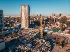 Ход строительства дома Секция 1 в ЖК Гвардейский 3.0 - фото 33, Декабрь 2020