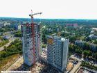 Ход строительства дома № 7 в ЖК Планетарий - фото 9, Сентябрь 2018