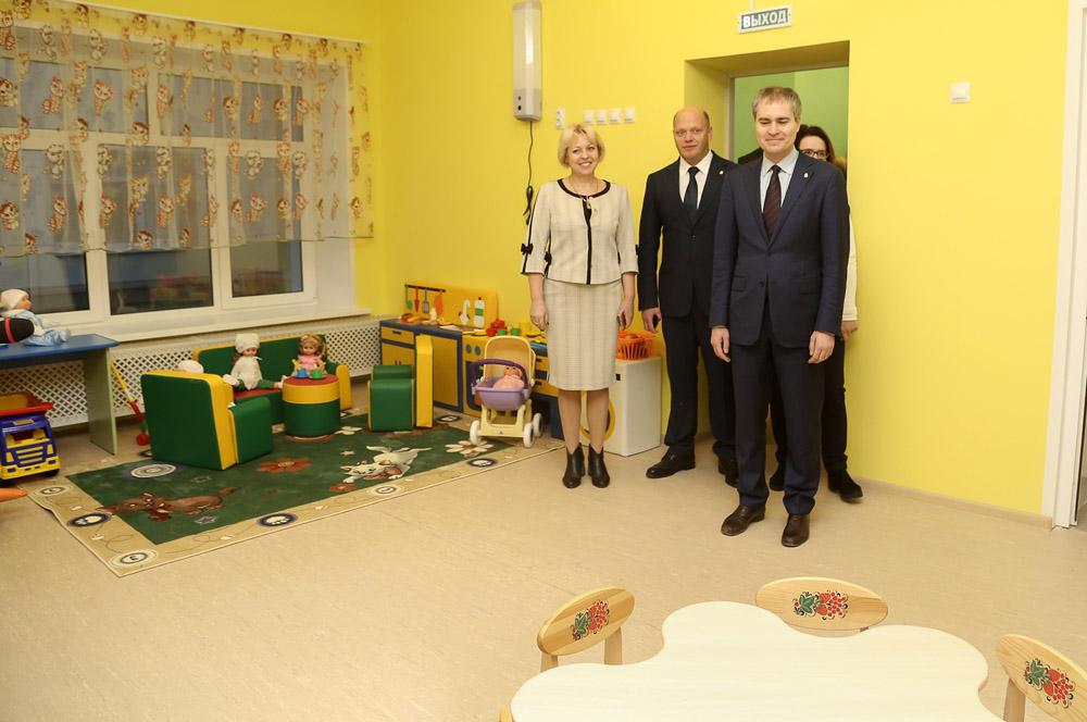 Обновленный детский сад в Канавинском районе подготовили к приему детей