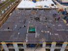 Ход строительства дома № 1 первый пусковой комплекс в ЖК Маяковский Парк - фото 68, Ноябрь 2020