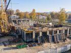 Ход строительства дома № 1 первый пусковой комплекс в ЖК Маяковский Парк - фото 77, Октябрь 2020