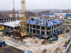 Ход строительства дома № 1 первый пусковой комплекс в ЖК Маяковский Парк - фото 74, Октябрь 2020