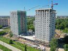 Ход строительства дома № 1 первый пусковой комплекс в ЖК Маяковский Парк - фото 25, Июнь 2021