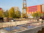 Ход строительства дома № 1 в ЖК Город чемпионов - фото 98, Сентябрь 2014