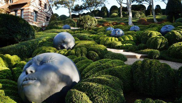 Чудо садов Этрета в Нормандии (Франция)