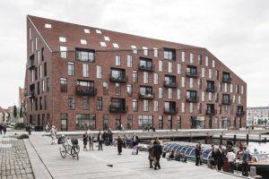 Жилой комплекс «Krøyers Plads» в Копенгагене (Дания)