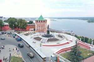С оркестром и салютом: как в Нижнем Новгороде открыли Чкаловскую лестницу