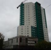 Жилой дом: ул. Сазанова, д. 15 - ход строительства,